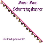 Minnie Happy Helpers Geburtstagsbanner