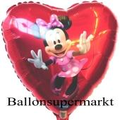 Mini Maus Dancing Folienballon, ungefüllt