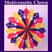 Motivrosette Clown