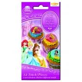 Kuchendekoration Disney Princess Muffinaufleger zum Kindergeburtstag