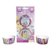 Kuchendekoration Disney Princess Muffinfoermchen zum Kindergeburtstag
