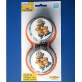 Muffinförmchen Minions, Dekoration zum Kindergeburtstag