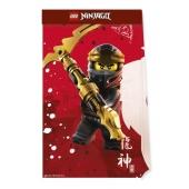 Ninjago Lego, Partytüten aus Papier, 4 Stück