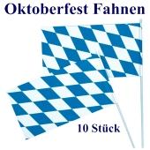 Bavaria Fahnen, Oktoberfest Dekoration