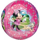 Minnie Maus Orbz, großer Luftballon aus Folie mit Helium