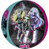 Monster High Orbz, großer Luftballon aus Folie mit Helium