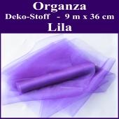 Organza Deko-Stoff, Lila