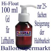 Hi-Float, 100 ml, Gel zur Steigerung der Haltbarkeit von Luftballons