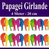 Papagei Girlande