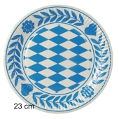 Pappteller-Dekoration-Bayrisch-Blau-23-cm