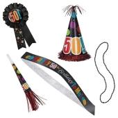 5-teiliges Party-Kit zum 50. Geburtstag