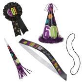 5-teiliges Party-Kit zum 60. Geburtstag