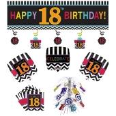 Dekorations-Set zum 18. Geburtstag, Celebrate