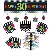 Dekorations-Set zum 30. Geburtstag, Celebrate