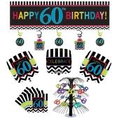 Dekorations-Set zum 60. Geburtstag, Celebrate