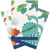 Papiertüten Dino-Mite zum Kindergeburtstag