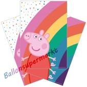Papiertüten Peppa Pig zum Kindergeburtstag