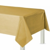 Party-Tischdecke in Gold