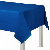 Party-Tischdecke in Marineblau