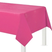 Party-Tischdecke in Pink