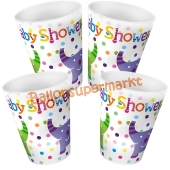 Baby Shower Elephants Partybecher