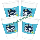 Battle Royal Partybecher, 8 Stück
