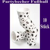 Partybecher Fußball