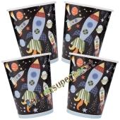 Weltraum Partybecher, Outer Space, 8 Stück