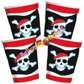 Pirate Party Partybecher, 8 Stück