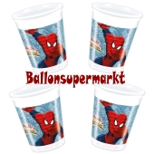 Spider-Man Web-Warriors Partybecher