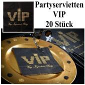 VIP Servietten Partydekoration