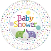 Baby Shower Elefanten Partyteller