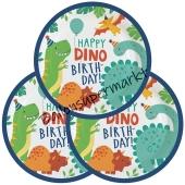 Partyteller Dino-Mite zum Dinosaurier Kindergeburtstag