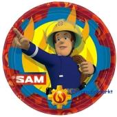 Partyteller Feuerwehrmann Sam zum Kindergeburtstag