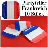 Partyteller Frankreich