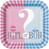 Gender Reveal Partyteller, Girl or Boy?