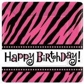 Happy Birthday Mini-Partyteller Oh So Fabulous zum Geburtstag, Kindergeburtstag