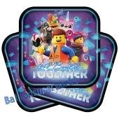 The LEGO Movie 2 Partyteller zum Kindergeburtstag