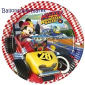 Micky Maus Roadster Racers Partyteller zum Kindergeburtstag