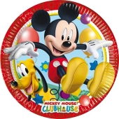 Micky Maus Partyteller zum Kindergeburtstag