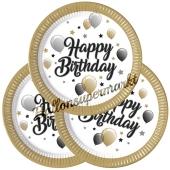 Milestone Happy Birthday Partyteller zum Geburtstag, Kindergeburtstag