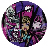 Monster High  Partyteller zum Kindergeburtstag