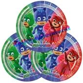 PJ Masks Partyteller zum Kindergeburtstag