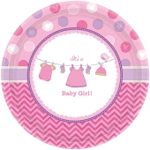 Shower with Love Girl, Partyteller zur Babyparty