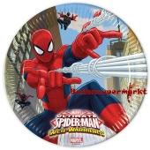 Spider-Man Web-Warriors Partyteller zum Kindergeburtstag