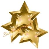 Partyteller Stern, Gold, Formteller