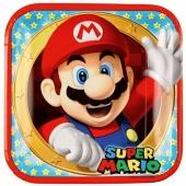 Super Mario Partyteller zum Kindergeburtstag