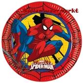 Ultimate Spider-Man Partyteller zum Kindergeburtstag