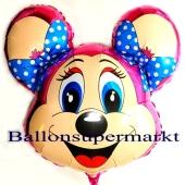 Peggy Maus Luftballon aus Folie inklusive Helium
