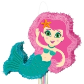 Meerjungfrau Pinata zum Kindergeburtstag